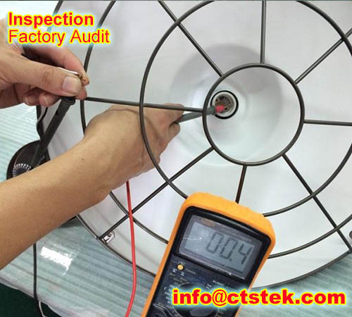 led light inline inspection