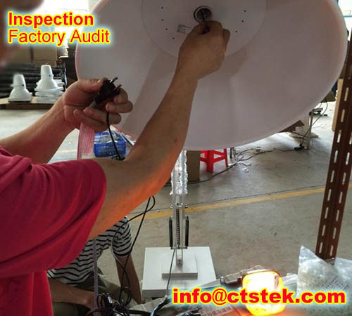 LED on-site inspection