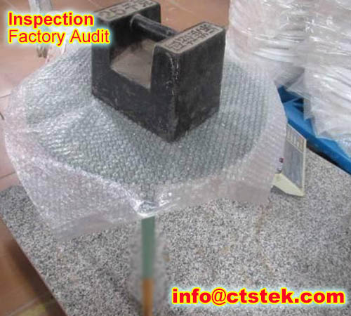 ratten chair preshipment QC