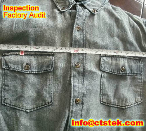 T-shirt AQL inspection